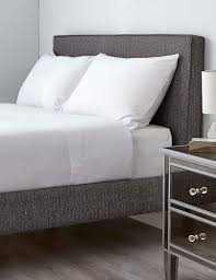 plain bedding cotton double u0026 single white bedding m u0026s