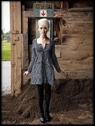 alysha nett h m dress dkny tights jeffrey cbell booties