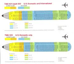 Air France A380 Seat Map by Twa L 1011 Seat Diagram 1972 L 1011 Lockheed Tristar Pinterest