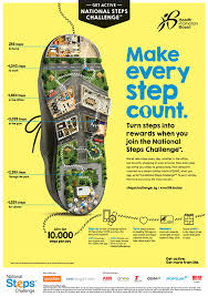 Challenge Steps When Marketing Steps Up The National Steps Challenge Ddb Asia