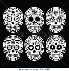 sugar skull stock images royalty free images vectors