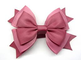 pink hair bow pin by kazaryan on my handmade etsy pink hair