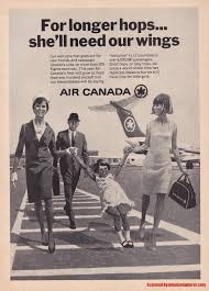 nissan canada tv commercial vintage airline aviation and aerospace ads air canada