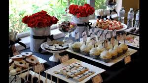 fresh decoration for buffet table ideas on a budget modern with