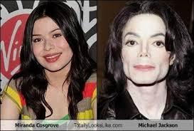 Michael Jackson Meme - miranda cosgrove totally looks like michael jackson cheezburger