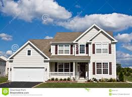 suburban house royalty free stock photography image 6041727