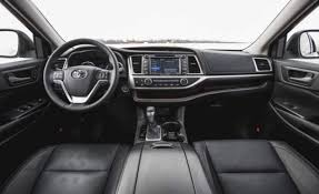 Toyota Highlander Interior Dimensions 2018 Toyota Highlander Review Release Date Colors Us Suv Reviews