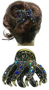 hair claw jeweled hair claw