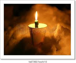 memorial candle free print of memorial candle memorial candle in cup stuck into