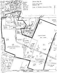 Paul Revere House Floor Plan by Love Lane Area Historical Narrative Weston Ma