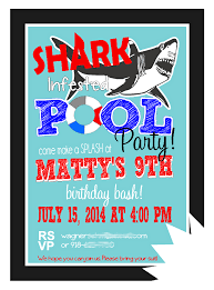 keeping my cents shark pool party