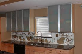 Kitchen Cabinet Doors Only Kitchen Frosted Glass 2017 Kitchen Cabinet Doors Flatware Wall