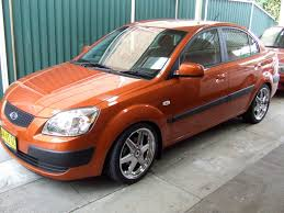 2007 kia rio information and photos zombiedrive