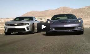 camaro zl1 vs corvette tony roma and conrad grunewald demo chevy driving dynamics in zl1