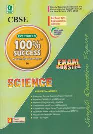 cbse evergreen 100 success sample question papers in science