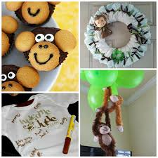 baby shower monkey diy monkey baby shower ideas crafty morning