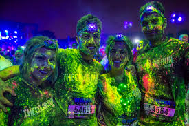 singapore the color run night singapore