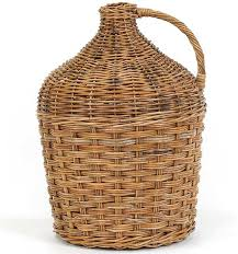 country wine basket mainly baskets country winery rattan basket reviews wayfair