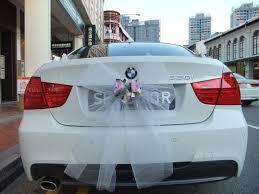 bmw car rental white bmw 320i m for bridal car rent
