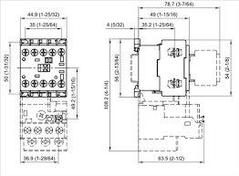 allen bradley 100 k09 10 3 pole 9 amp iec miniature contactor