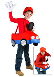 mario brothers halloween costumes video game kart costume kids super mario bros halloween costumes