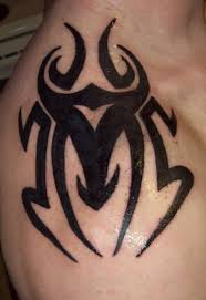 tribal cancer sign tattoo on shoulder photo 14 2017 real photo