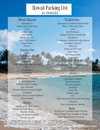 Hawaii travel security images What to pack for a trip to hawaii with free printable list png