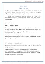 patient flow management in opd