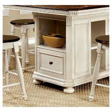 counter height table with storage sun pine 9pc country storage counter height table set cherry and