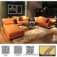 Orange Sleeper Sofa Orange Leather Sectional Sofas U2013 Ipwhois Us