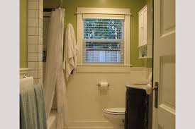 modern style small bathroom ideas bold paint color scheme home