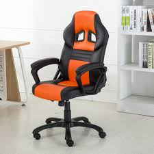 Gaming Swivel Chair Racing Style Office Chair Ergonomic Pu Leather Swivel Seat Style
