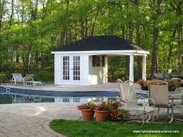Pool Shed Plans by Avalon Pool House Homestead Structures