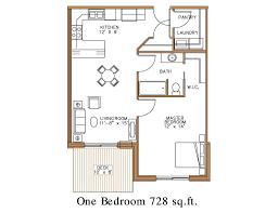 large 1 bedroom apartment floor plans