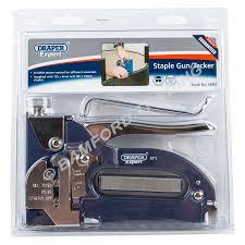 Staple Gun Upholstery Draper Expert Staple Gun Heavy Duty Tacker With Staples Upholstery