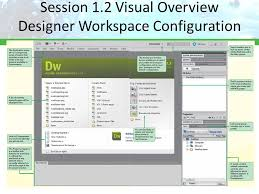 configure xp dreamweaver tutorial 1 getting started with adobe dreamweaver cs5 ppt download