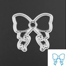 Embossing Templates Card Making - aliexpress com buy bowknot metal cutting dies template for diy