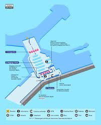 Incheon Airport Floor Plan by Airport Guide International At The Airport In Flight