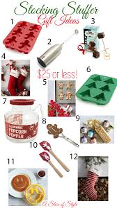 christmas stuffers gifts and stuffers for 25 and a slice of style