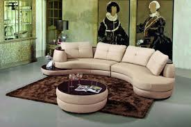 Leather Sectional Sofa by Modern Beige Leather Sectional Sofa