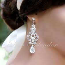 wedding earrings drop vintage bridal earrings chandelier wedding earrings