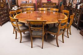 Jupe Dining Table Theodore 7ft Diameter Mahogany Jupe Dining Table
