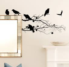 apply halloween wall decals inspiration home designs image of halloween wall decals ideas