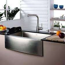 Faucets For Kitchen Decorating Stainless Steel Farmhouse Sink For Interesting Kitchen