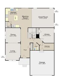 Ryland Homes Orlando Floor Plan Bridgeport Floor Plan In Parkside At Westphalia Single Family