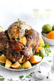 herb citrus roasted thanksgiving turkey the wooden skillet