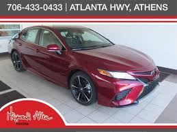 new 2018 toyota camry xse v6 4dr car in athens ju501837 heyward