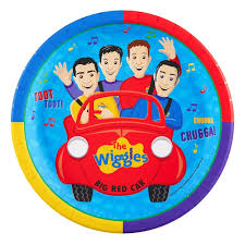 the wiggles birthday party plates the wiggles birthday party