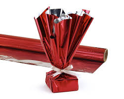 mylar wraps hygloss products mylar gift wrap roll great for gift