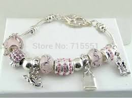 crystal bracelet charms images Silver plated bracelet chamilia beads charm bracelet silver jpg